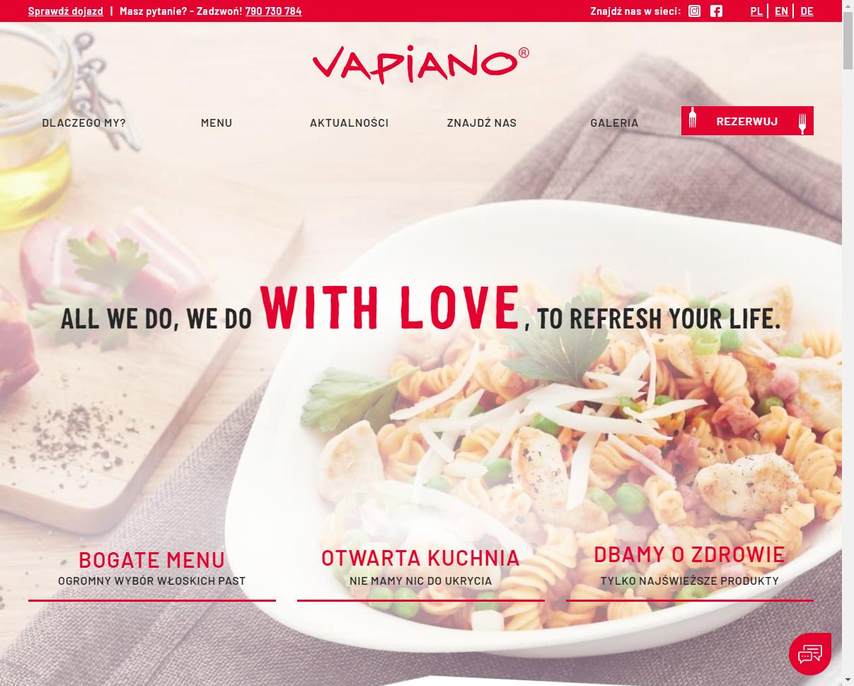 Vapiano wrocław - Restauracja