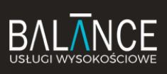 Wojciech Moryś Balance Usługi Wysokościowe